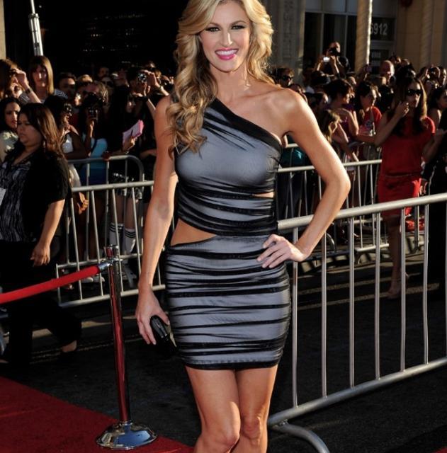 Erin Andrews, la presentadora deportiva que recibirá