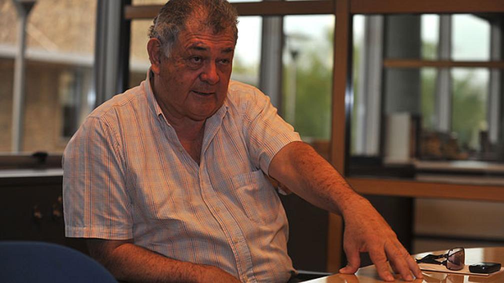 Emeterio Farías dice que es un momento único para el fútbol del interior (Foto: Martín Santader).