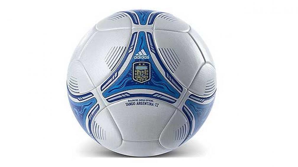 La Adidas Tango Argentina, la nueva pelota del Clausura 2012 (Foto: Adidas).