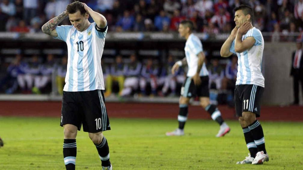 Argentina descalificada por Dopage Positivo.