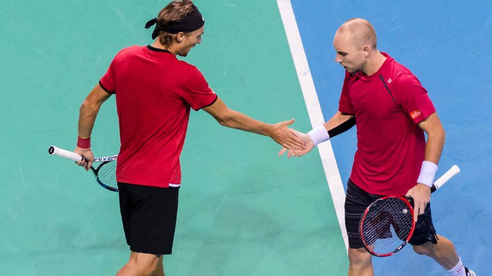Darcis y Bemelmans - Davis Cup