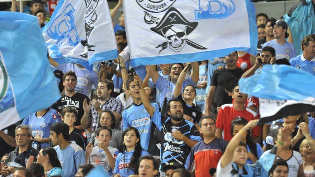Los hinchas de Belgrano seguramente irán en masa este domingo al Kempes (Foto. La Voz).