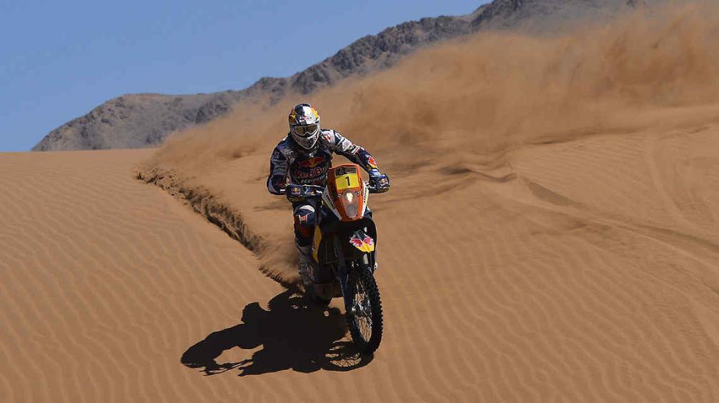 Cyril Despres, una de las grandes figuras en el Dakar 2013 (Foto: AP).