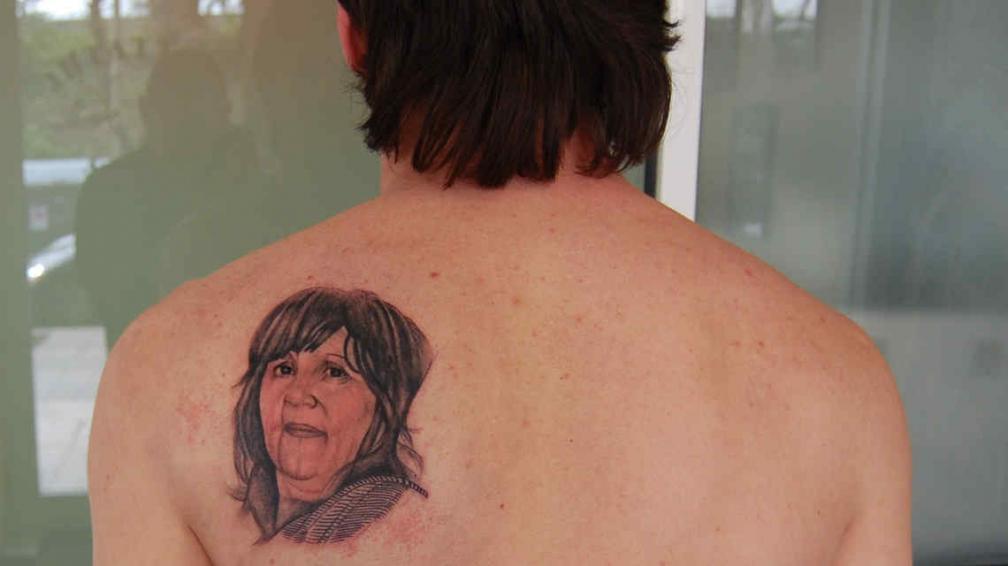 Este fue el tatuaje que Guillermo le hizo a Messi.