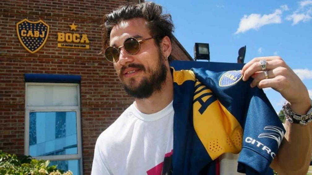 El punta nacionalizado italiano podría tener su estreno con la azul y oro el próximo domingo (Foto: Boca Juniors)
