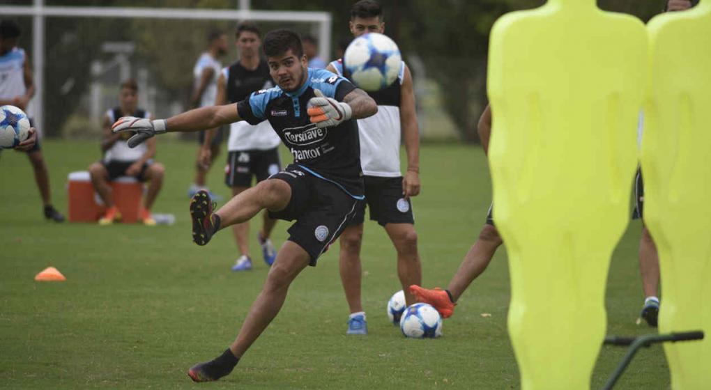 Lucas Acosta y el presente de Belgrano: Hay que pensar en ganar cada batalla