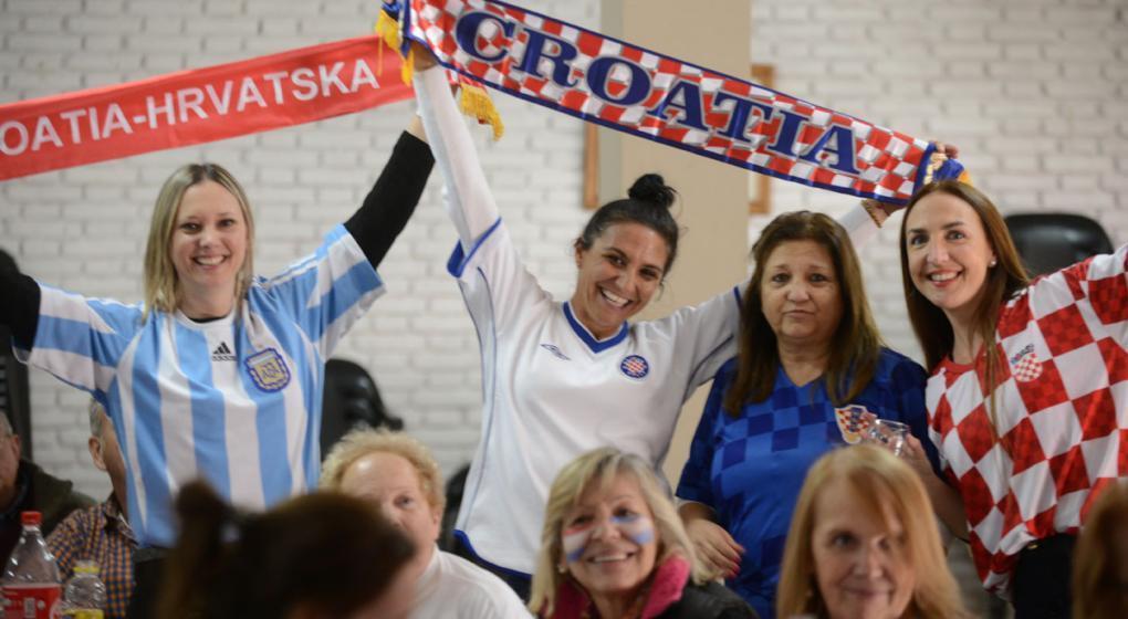 El Hogar Croata de Córdoba invita a ver la final del Mundial