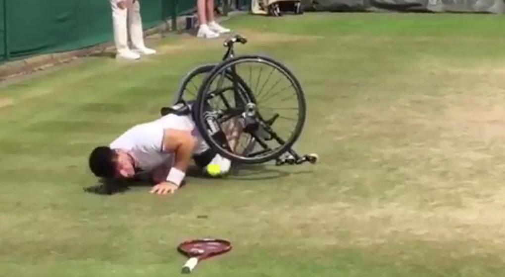 Gustavo Fernández lo hizo de nuevo: jugará la final de Wimbledon