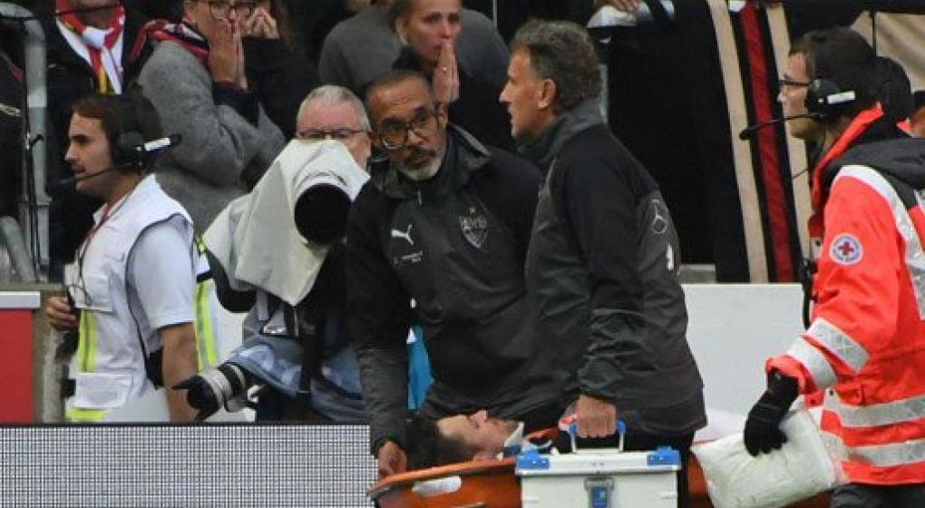 El médico del Stuttgart salvó a un jugador tras un terrible choque