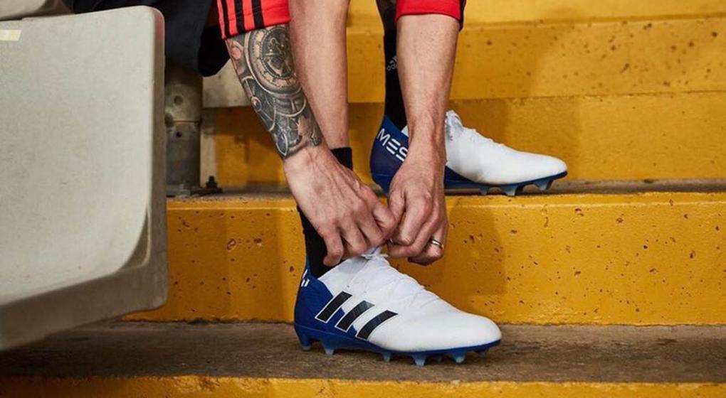 Los nuevos botines de Messi para esta temporada