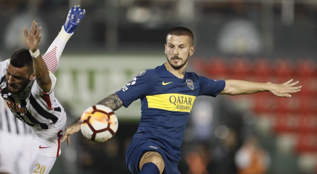 ¡Benedetto volvió con todo! Dos asistencias para los goles de Boca ante Libertad
