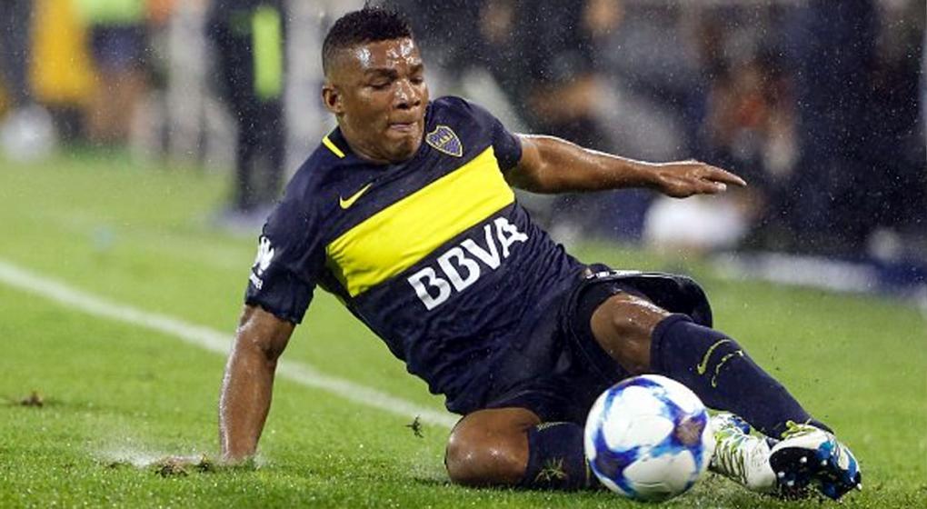 Boca Juniors repudia los insultos racistas al colombiano Fabra