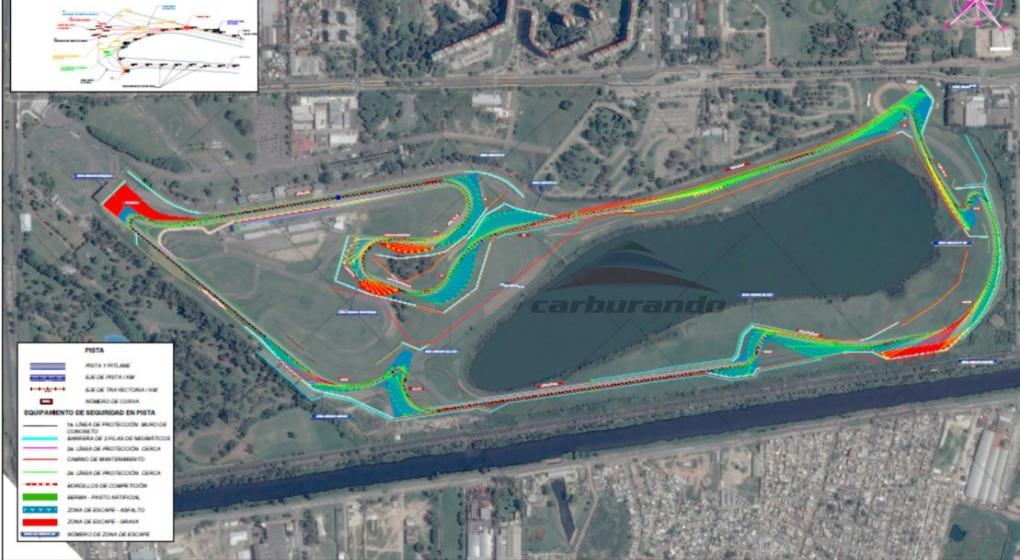 Circuito Galvez : Fórmula así podría ser el autódromo galvez mundod