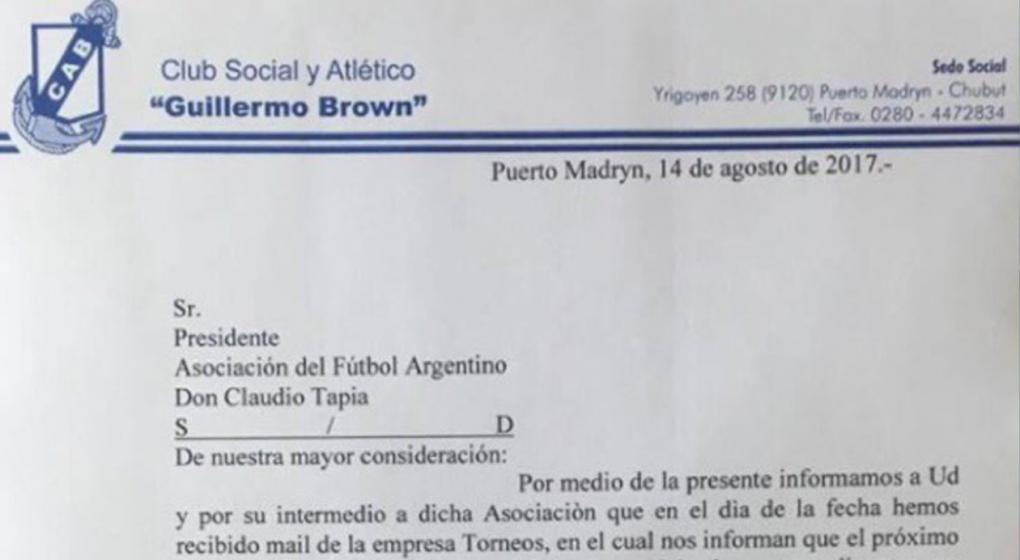 Copa Argentina: Postergado Boca - Guillermo Brown