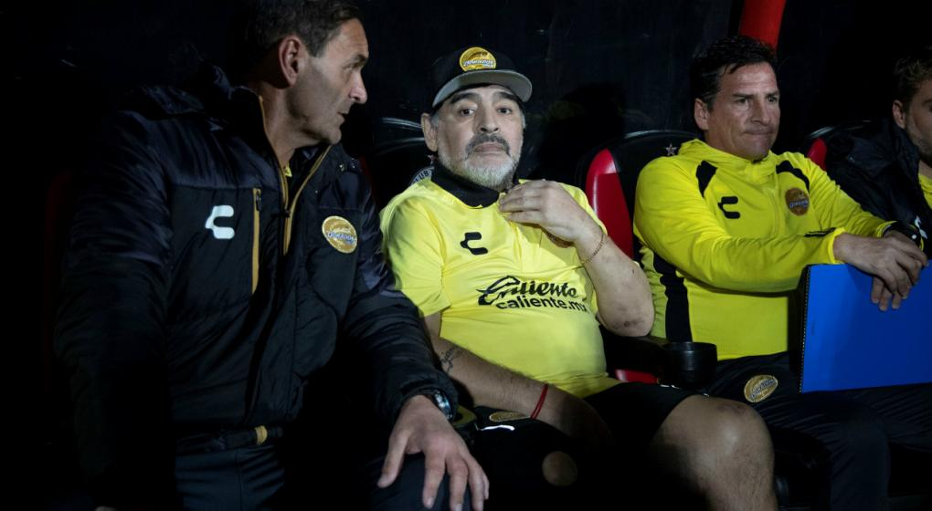¿Maradona cambia de equipo en México?