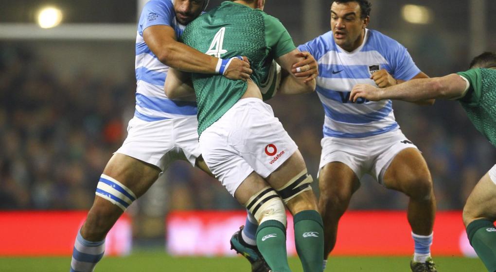 Los Pumas no pudieron con Irlanda