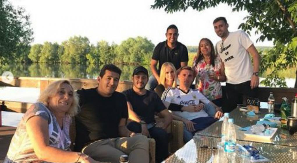 Un día en familia para la selección en Rusia 2018