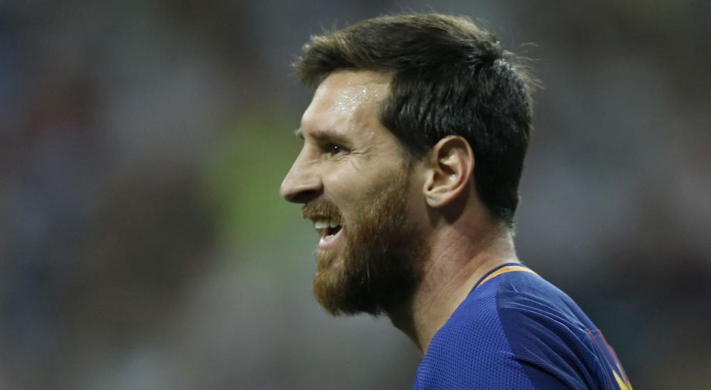 El duro encontrón entre Lionel Messi y Sergio Ramos