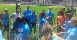 Las chicas de Belgrano, en lo más alto: son campeonas del fútbol femenino