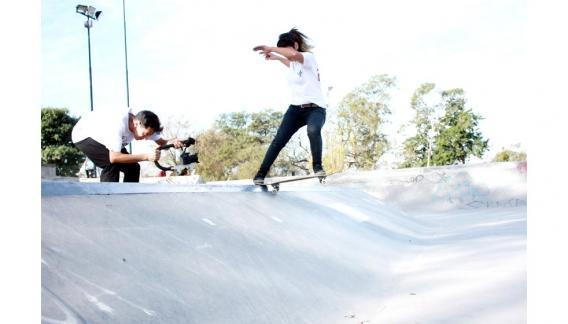 Antonella Castillo, es de La Rioja y practica este deporte desde hace seis años. (CBAX)