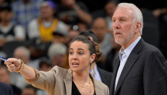 Becky Hammon, ascendida en los Spurs: se sentará en el banquillo