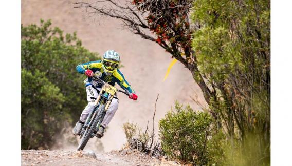 Su primera experiencia fue corriendo carreras municipales en su Cruz del Eje natal y el Mountain Bike se convirtió en su verdadera pasión. (CBAX)