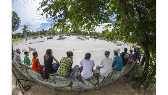 Escuela de Skateboard para las nuevas generaciones. (Fotografías de Gonzalo Núñez / CBAX)