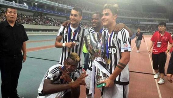 Dybala, supercampeón con Juventus en su debut. (Foto:  Twitter @JuventusFC)