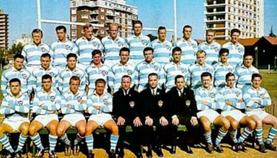 Los Pumas, en 1965. (Foto. Internet)