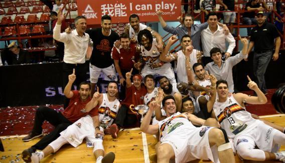 San Martín se ilusiona ahora con poder ganar la Liga Nacional, el título que le falta.