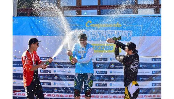 El piloto ha participado en mundiales, panamericanos y su entrenador personal es Martín Conti. (CBAX)