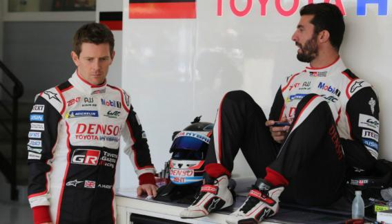 Por talento y profesionalismo, Pechito se ganó su lugar en el WEC para Toyota.