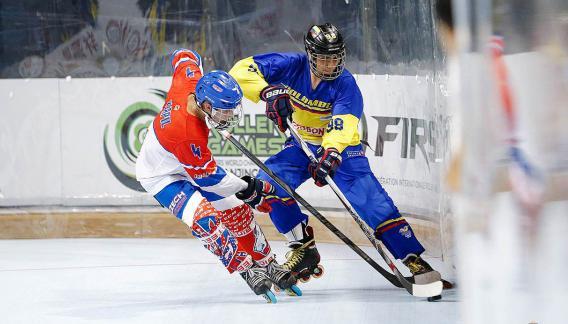 El Roller Hockey es un deporte sobre ruedas que garantiza la participación de todos sus aspirantes. (CBAX)
