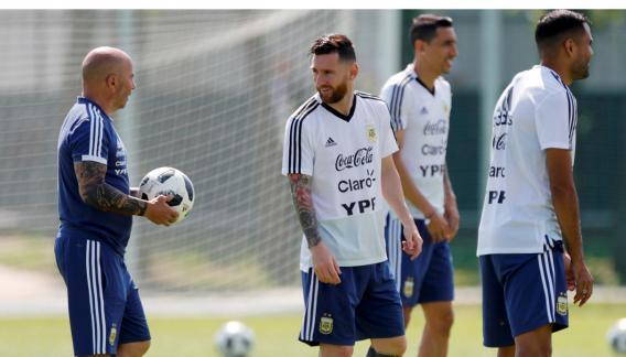 El lamento de Messi tras quedar eliminado del Mundial — Argentina vs Francia