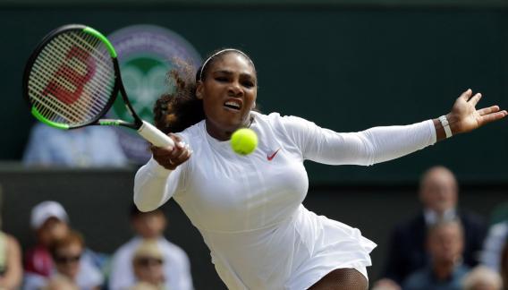 Serena es amplia favorita a ganar Wimbledon 2018. (AP)