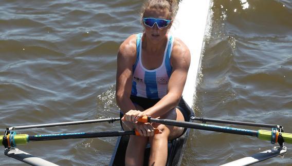 Sol es la tercera campeona olímpica argentina en los Juegos de la Juventud. Antes fueron Braian Toledo (jabalina) en Singapur 2010 y Francisco Saubidet (windsurf) en Nanjing 2014. (prensa Buenos Aires 2018)