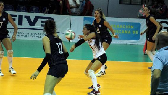 La cordobesa Valentina González es la líbero de la selección argentina.
