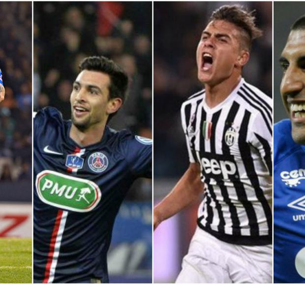 Grandes goles de los futbolistas cordobeses en el exterior en 2016