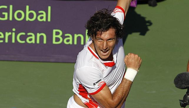 Mónaco ganó y está semifinales en Miami (Foto: AP).