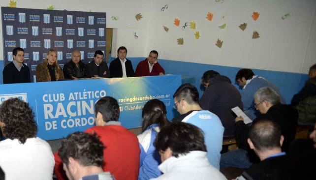 La situación del club preocupa a los socios (Foto: Archivo / La Voz).