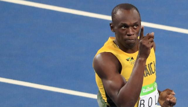 Bolt ganó el oro en 100 metros libres.