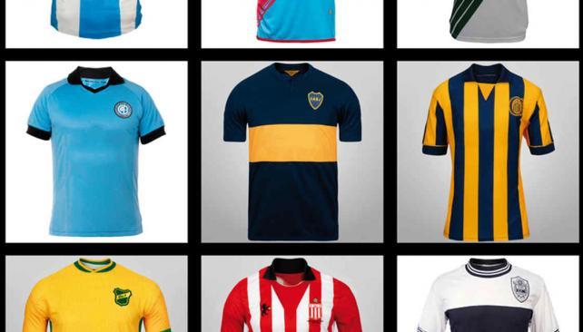 Cómo serían las camisetas del fútbol argentino sin publicidad ...