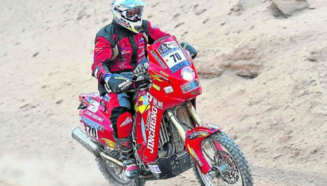 Pascual y transita la vida ligado al Dakar. (Foto: LVI)