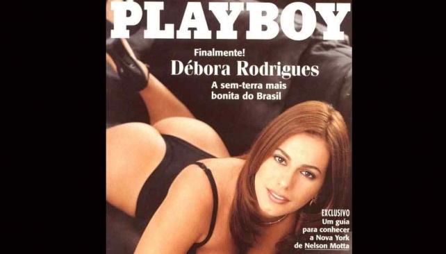 Debora Rodrigues, cuando fue conejita de Playboy.