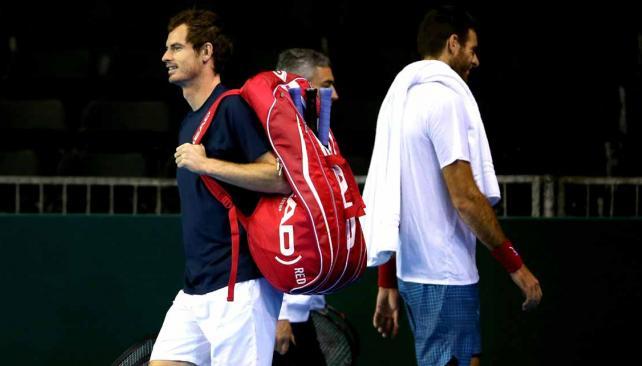 Andy Murray y Juan Martín del Potro se cruzarán el viernes (Foto: AP).
