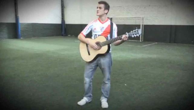 El tema que es furor en la web: Himno a Funes Mori. (Captura web)