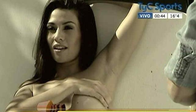Ivana Nadal, la notera de Tiempo Extra. (Foto: Captura TV)