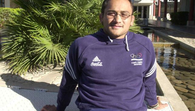 Jorge Lencina aseguró que el Enard le dio todo para llegar bien a los Juegos Paralímpicos (Foto: La Voz / Archivo).