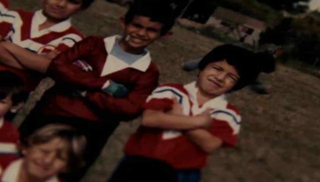 Las imágenes de Luis Suárez cuando era niño. (Foto. Internet)
