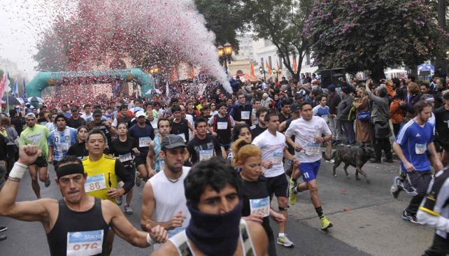 Un clásico. La Maratón Córdoba se corre de manera ininterrumpida desde hace 23 años. // Foto: Pedro Castillo / Archivo